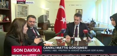 """""""YPG, ABD'den aldığı parayla Türkiye'ye saldırır"""""""