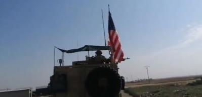 YPG'li isim ABD konvoyunu takip edip 'bizi sattınız' diye taciz etti
