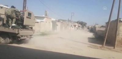 YPG'liler ABD'nin verdiği Hummer'ları bırakıp kaçtı!