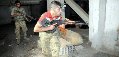 YPG'nin roket deposu ele geçirildi