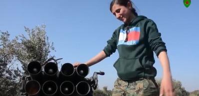 YPG/PKK'lılar İran yapımı roket atarlarla sivilleri vurdu