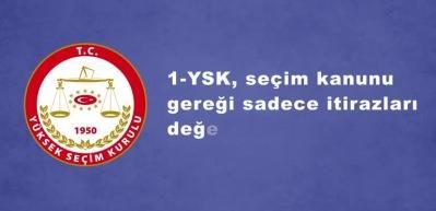 YSK, neden sadece İstanbul Büyükşehir Belediye seçimini iptal etti?