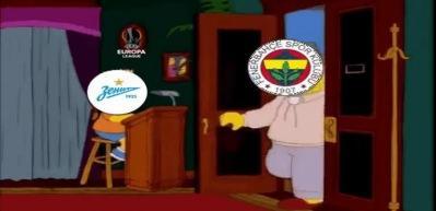 Zenit'ten Fenerbahçelileri kızdıracak paylaşım