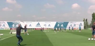 Zidane'den Modric'e müthiş asist!