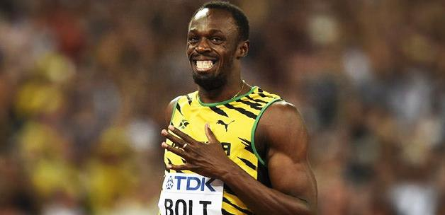 Usain Bolt, Messi'yi solladı! 5. kez...