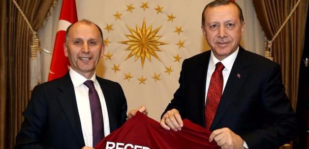 Erdoğan, Muharrem Usta'yı kabul etti