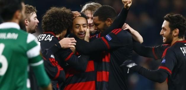 Çalhanoğlu attı, Leverkusen turladı!