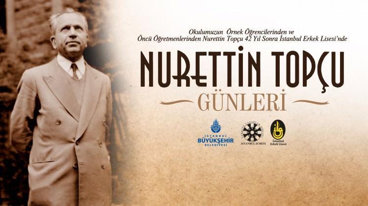 Nurettin Topçu günleri başlıyor