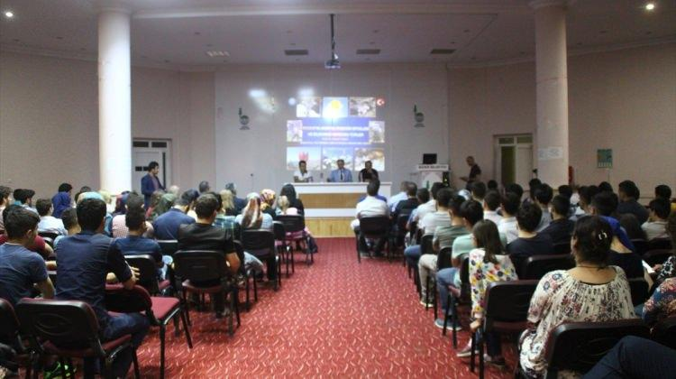 """Bozkır'da """"Doğa ve Kariyer"""" konferansı"""