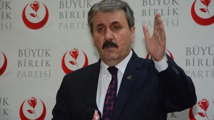 Yeni parti iddialarıyla ilgili Destici'den çağrı