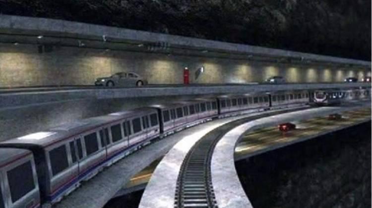 Dünyada bir ilk olacak! 3 katlı tünel geliyor!
