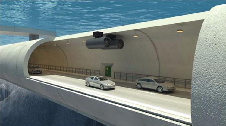 Yüzen tünel inşa ediyorlar!