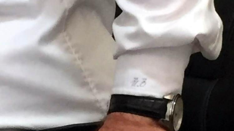 Ümit Özdağ'ın gömleğinde dikkat çeken detay!