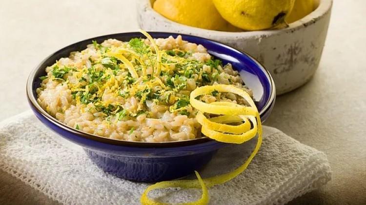 Limonlu risotto tarifi