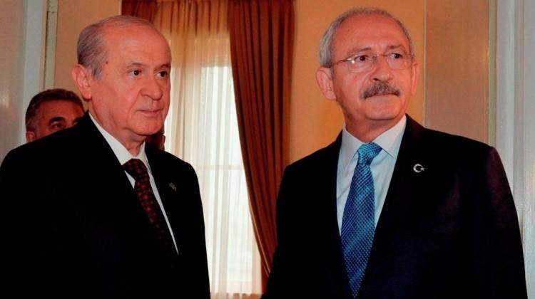 CHP'nin sokak çağrılarına MHP'den çok sert tepki!