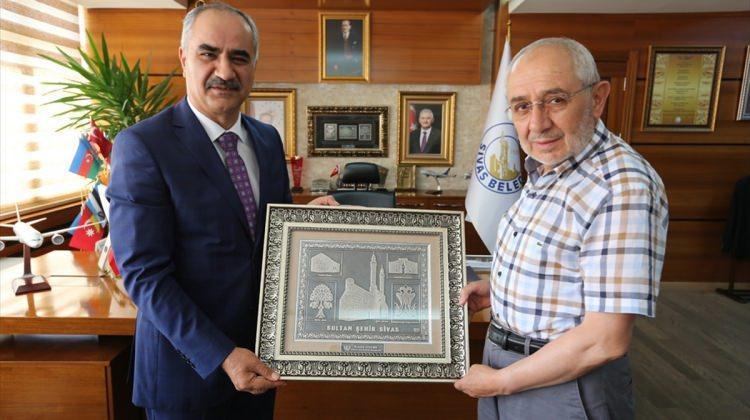 Milletvekili Erdem'den Başkan Aydın'a ziyaret