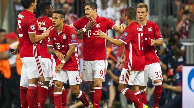 Bayern Münih Rostov'u Allianz'a gömdü!