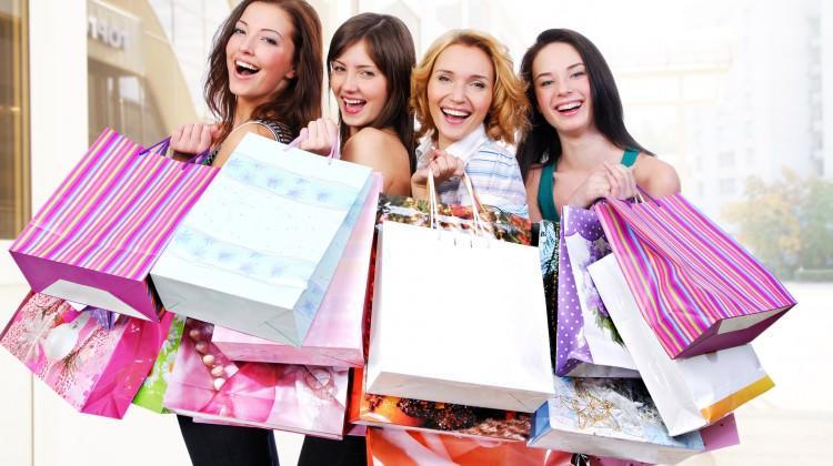 Kadınlar, alışveriş yaparak rahatlıyor