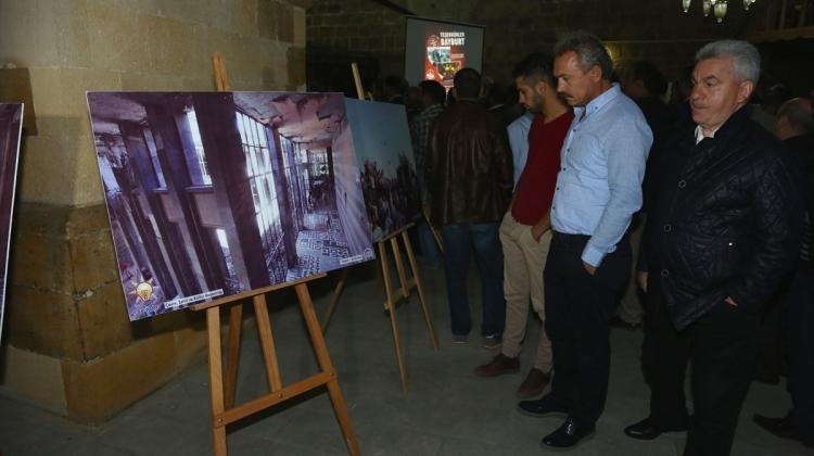 """Bayburt'ta """"15 Temmuz Milli İradenin Yükselişi Fotoğraf Sergisi"""""""