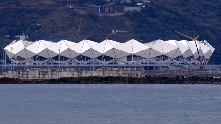 Trabzonspor'un yeni stadı Akyazı Arena'nın son halinin fotoğrafları;