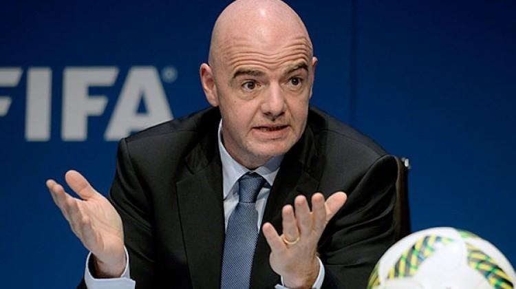 FIFA Başkanı'ndan Rusya'ya övgü