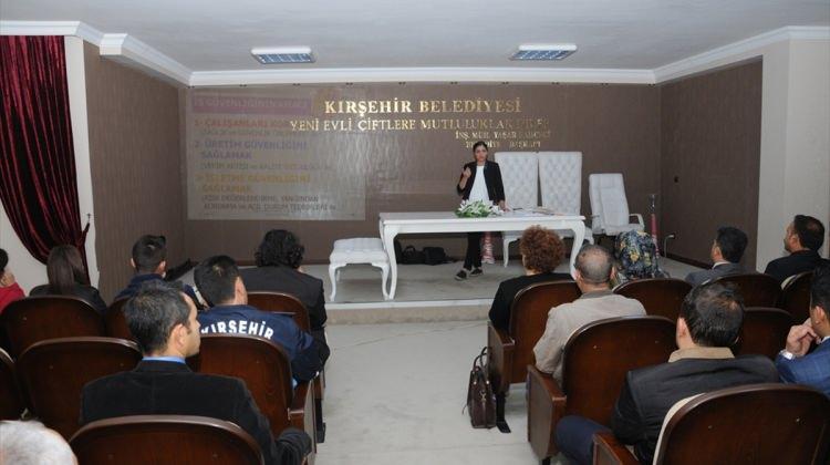 Kırşehir'de iş sağlığı ve güvenliği semineri düzenlendi