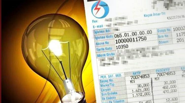 elektrik fatura ile ilgili görsel sonucu