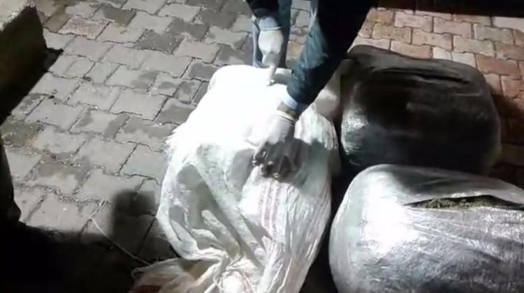 Mardin'de 89 kilogram esrar..