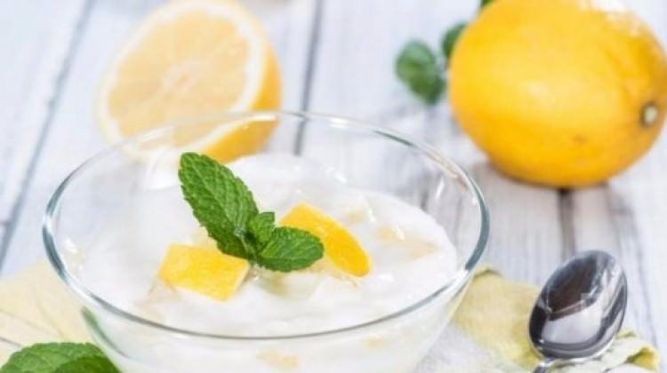 Kilo verdiren limonlu yoğurt kürü