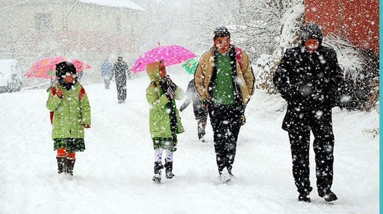 22 Aralık perşembe günü okullar tatil mi? İşte kar tatili olan iller