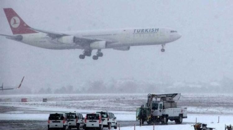 havalimanı kar sis ile ilgili görsel sonucu