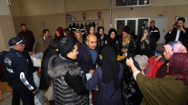 Toplanan bağışlar Halepli bebeklere ulaştırıldı 84