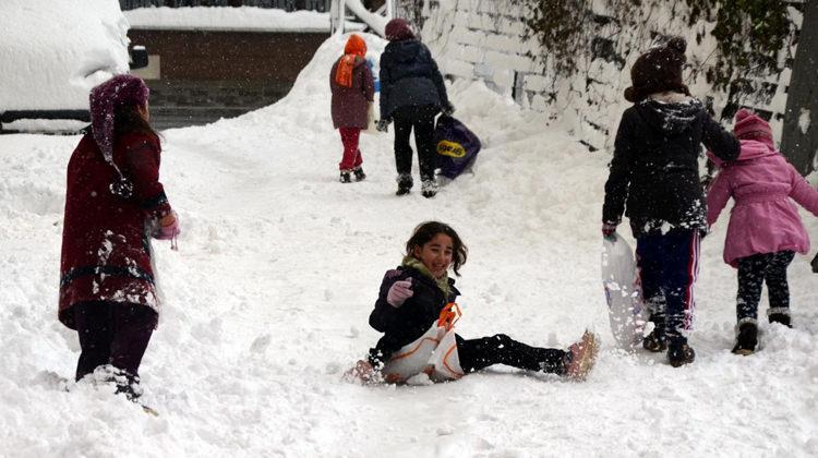 12 Ocak kar tatili olan iller! Hangi illerde yarın okul yok