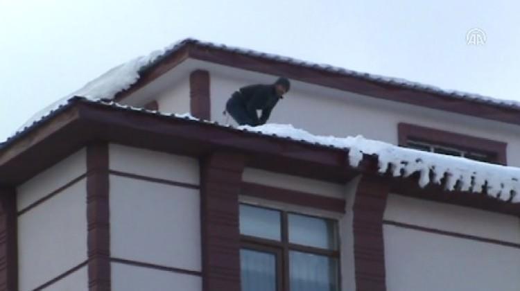 Kar, geçim kaynağı oldu
