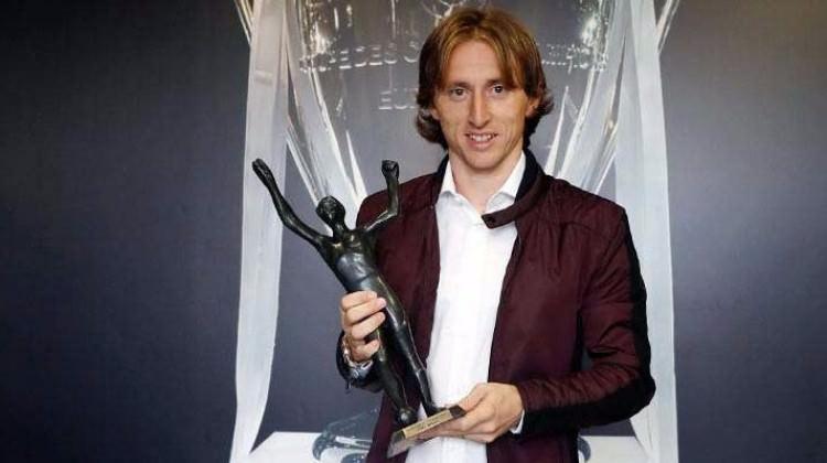 Luka Modric'e büyük onur! Beşinci kez...