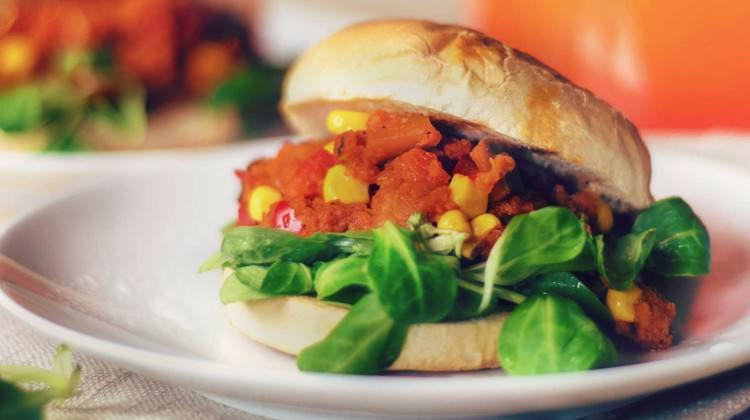 Klasik vegan burger tarifi