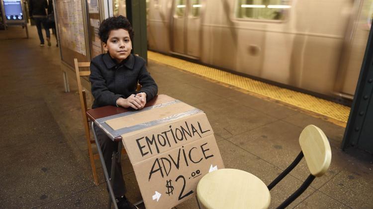 11 Yaşında psikolojik destek veriyor!