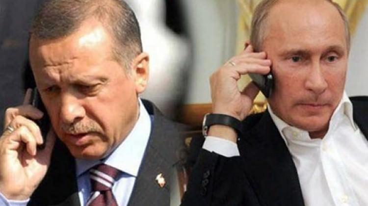 Putin'den Erdoğan'a El Bab ve Rus uçağı telefonu