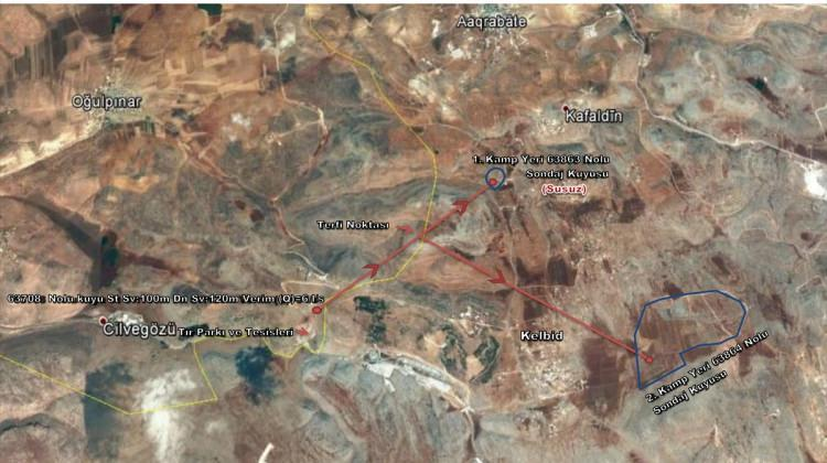 DSİ güvenli bölgelerdeki Suriyelilerin su ihtiyacını karşılayacak