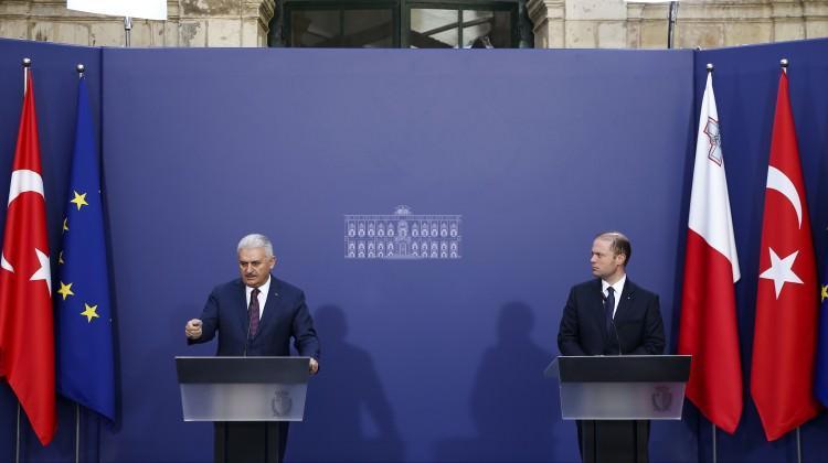 Başbakan Yıldırım'ı kızdıran soru