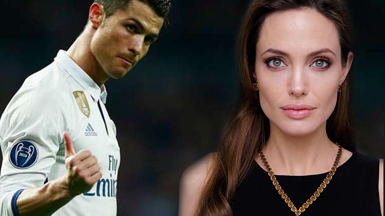 Cristiano Ronaldo ve Angelina Jolie'den sürpriz