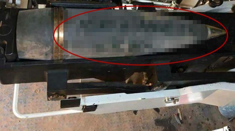 DEAŞ'a atılan bombaların üstüne anlamlı mesaj