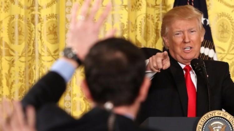 Trump'ı çıldırtan soru! Tepkisi sert oldu!