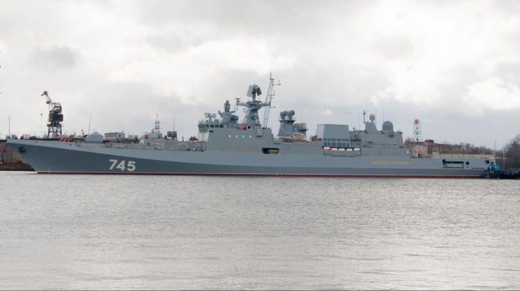 Rus savaş gemisi Suriye'ye doğru yola çıktı