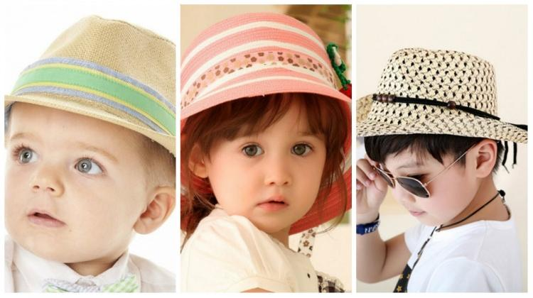 Çocuklar için en güzel 'Hasır şapka' modelleri