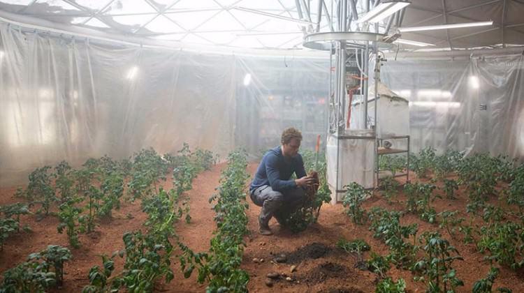 Marslı filmi gerçek oluyor