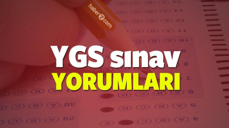 YGS yorumları! YGS sınavı zor muydu kolay mıydı?