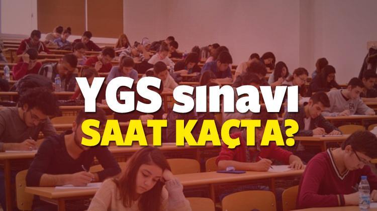 YGS'ye yarın saat kaçta? YGS sınavı saat tam 10'da mı?