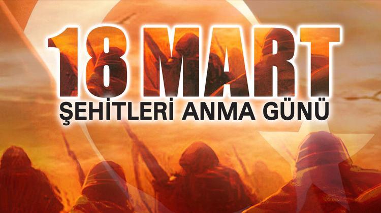 Resimli 18 Mart Çanakkale Zaferi mesajları!