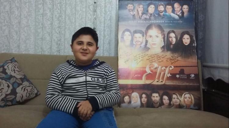 'Elif' dizisinden kas hastası Arda'ya destek